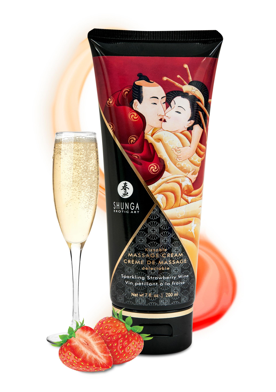 Sparkling Strawberry Wine cream-200ml.